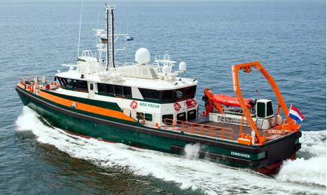 GeoPlus hydrographic survey