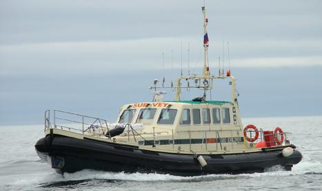 hydrographic survey vessel